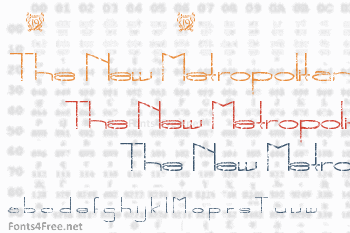 The New Metropolitan Font