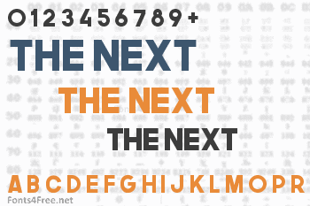 The Next Font Font