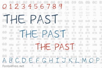 The Past Font