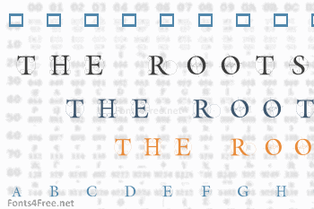 The Roots Font