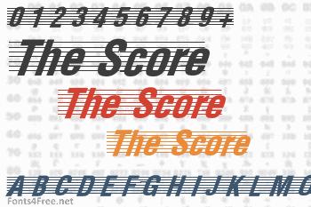 The Score Font