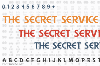 The Secret Service Font