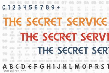 The Secret Service Font