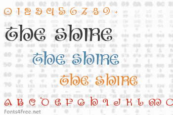 The Shire Font