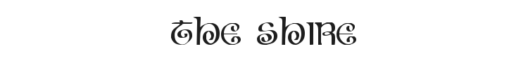 The Shire Font Preview