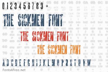 The Sickmen Font
