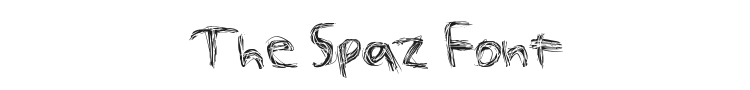 The Spaz Font Preview