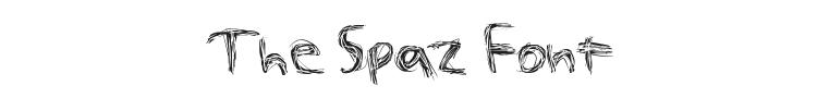 The Spaz Font