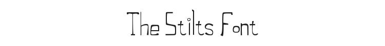 The Stilts Font