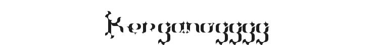 The Terriffic Kerganogggg...