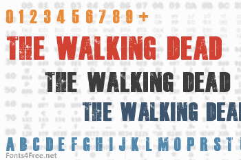 The Walking Dead Font