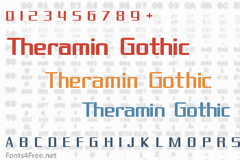 Theramin Gothic Font