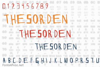 Thesorden Font