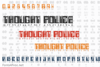 Thought Police Font