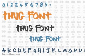 Thug Font