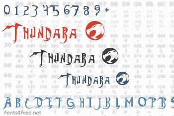 Thundara Font