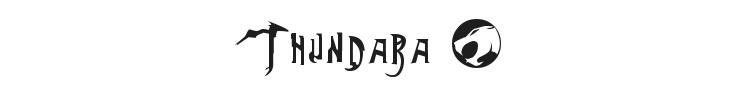 Thundara Font Preview