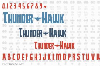 Thunder-Hawk Font