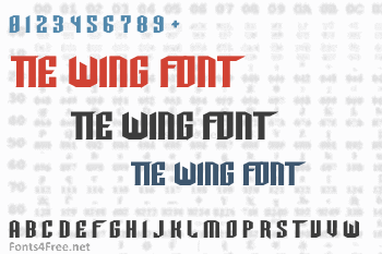 Tie Wing Font