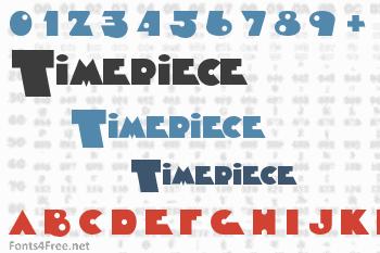 Timepiece Font
