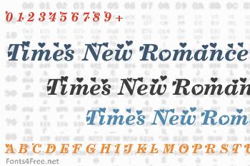 Times New Romance Font