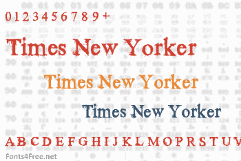Times New Yorker Font