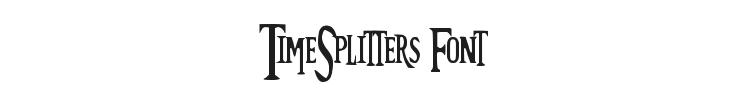 TimeSplitters Font