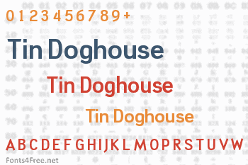 Tin Doghouse Font