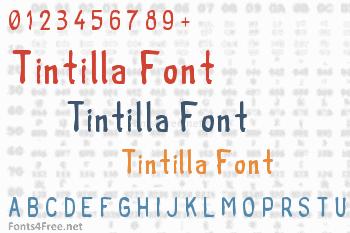 Tintilla Font