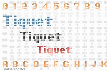 Tiquet Font