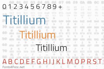 Titillium Font