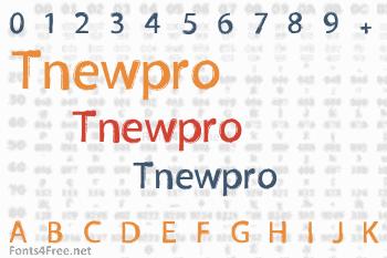 Tnewpro Font