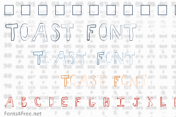 Toast Font
