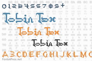 Tobin Tax Font