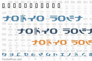 Tokyo Soft Font