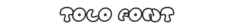 Tolo Font Preview