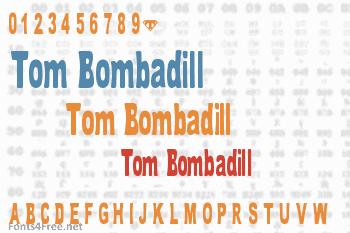 Tom Bombadill Font