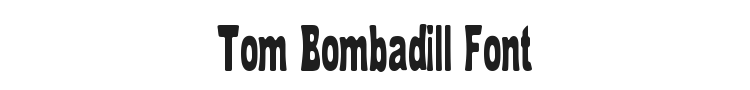 Tom Bombadill Font Preview
