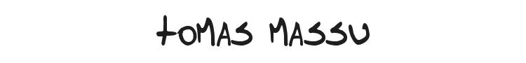 Tomas Massu Font Preview
