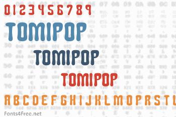 Tomipop Font