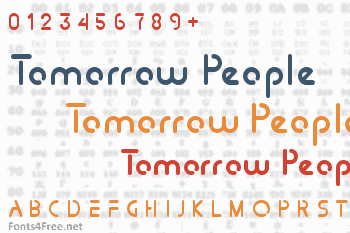 Tomorrow People Font