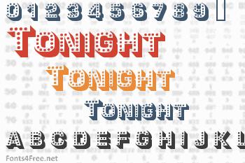 Tonight Font