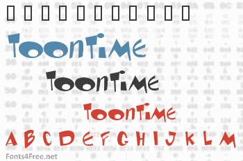 Toontime Font