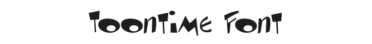 Toontime Font Preview