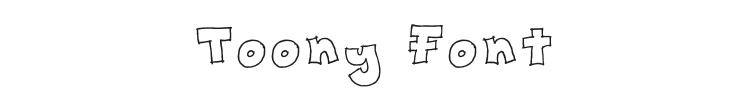 Toony Font