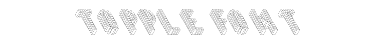 Topple Font