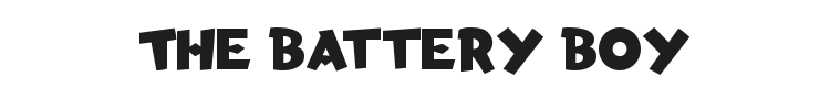 Torchy the Battery Boy Font