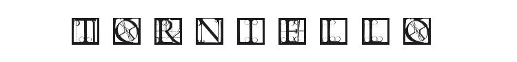 Torniello Initials Font Preview