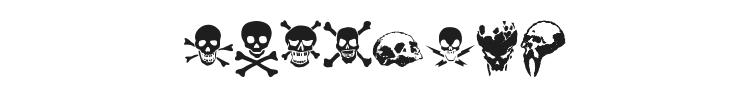 TotenKopf Font Preview