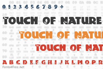 Touch Of Nature Font